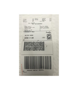 iRobot Repair Call Tag Label