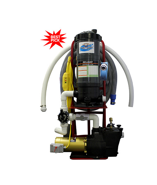 Tomcat Top Gun Pro 1 5 Portable Pool Vacuum