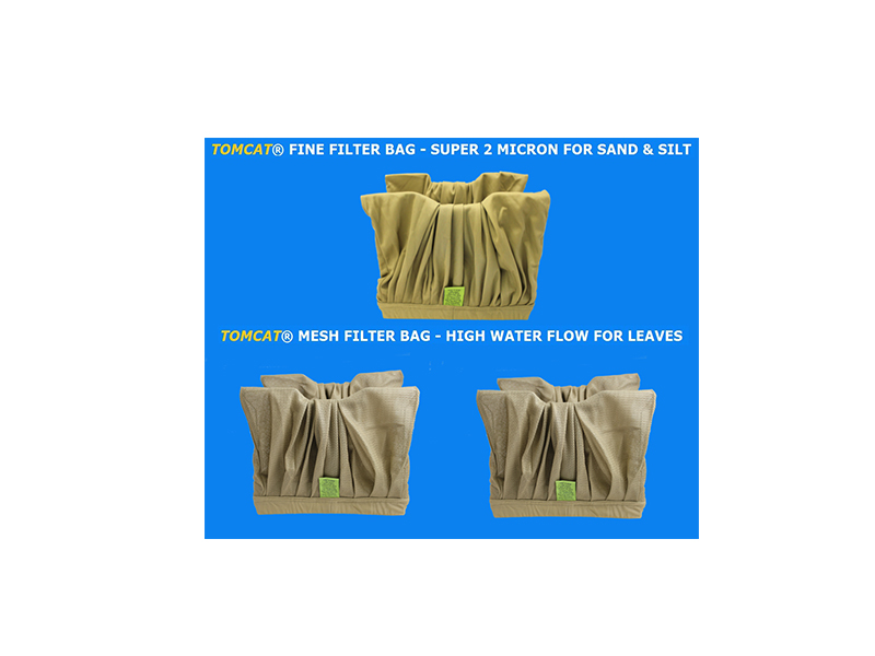 Aquaclean Filter Bag Special 1 Fine 2 Mesh Brown Tomcat Replacement Part