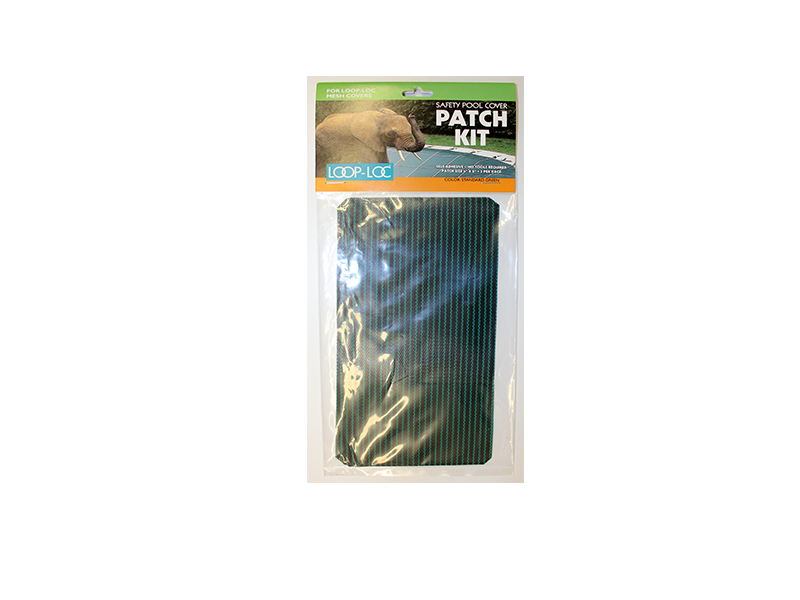 Loop Loc Patch Kit Safety Pool Cover Green Mesh