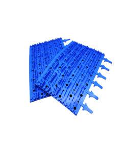 Aquabot Solo Remote Control Rubber Brushes Pair Blue Tomcat Replacement Part # 3002b