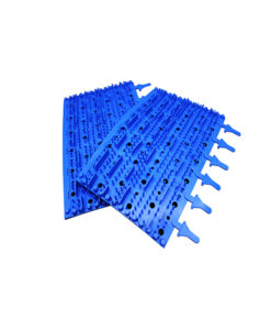 Aquabot Turbo T4 Rubber Brushes Pair Blue Tomcat Replacement Part # 3002b