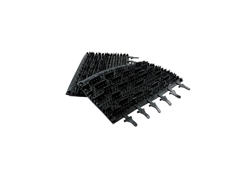 Pool Demon T Rubber Brushes Pair Black Tomcat Replacement Part # 3002b