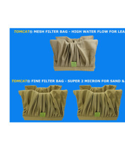 Pool Rover Jr. (thru-2010) Filter Bag Special 2 Fine 1 Mesh Brown Tomcat Replacement Part