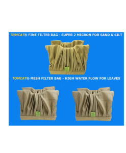 Aquabot Plus RC Filter Bag Special 1 Fine 2 Mesh Brown Tomcat Replacement Part