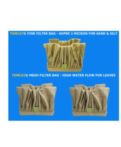 Pool Rover Jr. Thru 2010 Filter Bag Special 1 Fine 2 Mesh Brown Tomcat Replacement Part