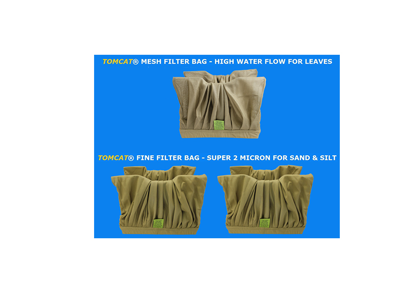 Aquabot Fury Filter Bag Special 2 Fine 1 Mesh Brown Tomcat Replacement Part