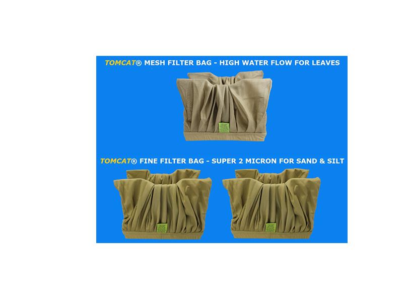 Aquaclean Filter Bag Special 2 Fine 1 Mesh Brown Tomcat Replacement Part