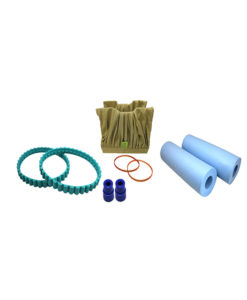Aquaclean Tune Up Kit Pva Brushes Tomcat Replacement Part Black