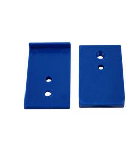 Blue Diamond Lock Tabs Blue Tomcat Replacement Part # 9204BL