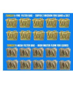 Aquamax Junior Plus Filter Bag Special 20 Pack Tomcat Replacement Part